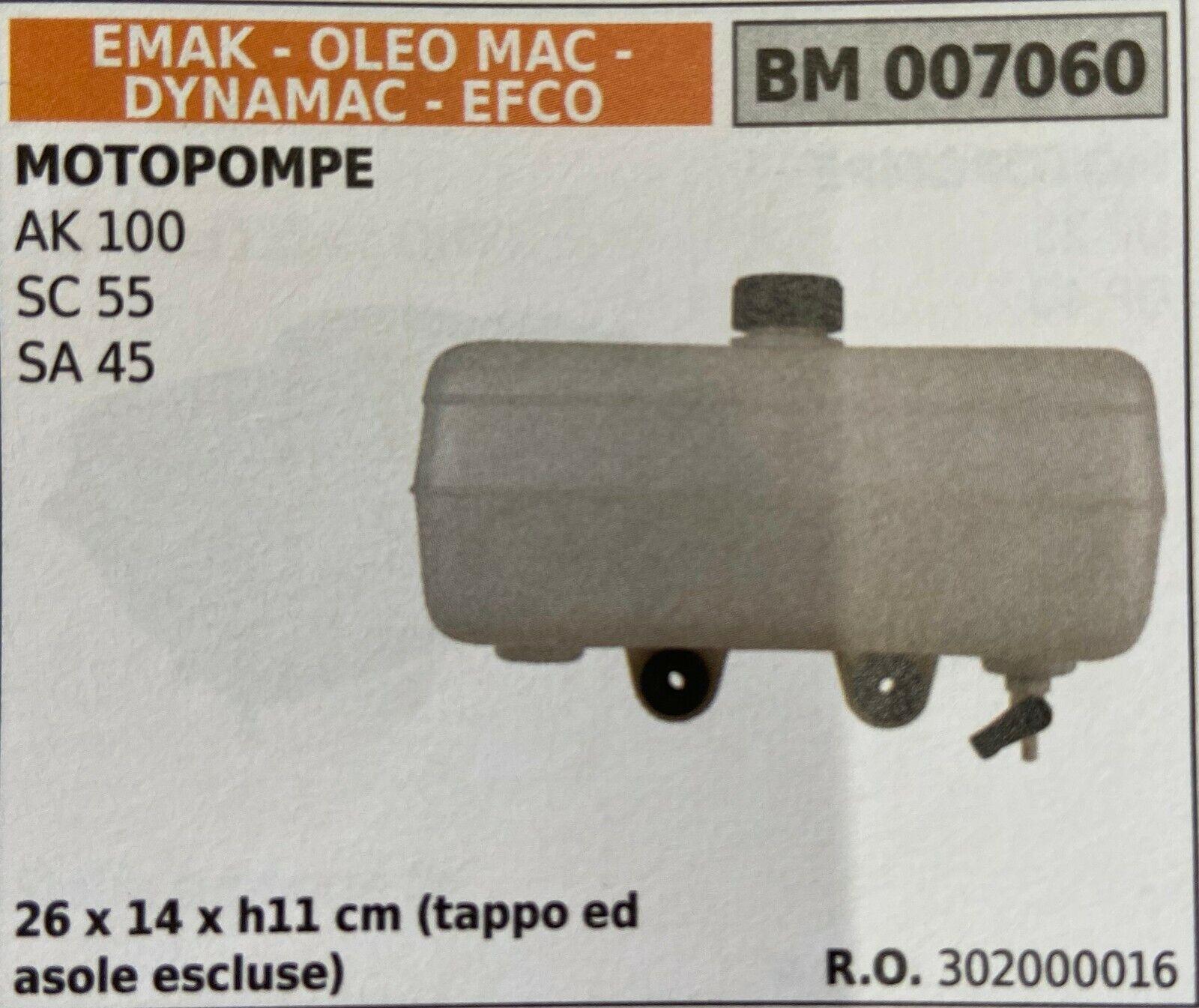 Brumar Tank Emak-Oleo Mac-Dynamac-Efco BM007060