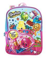 "Shopkins Girls 10"" Heart Canvas Pink School Backpack"