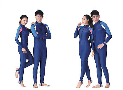 Men Women Ladies Youth Scuba Dive Skin Surfing Swim Full Suit Wetsuit Rash Guard
