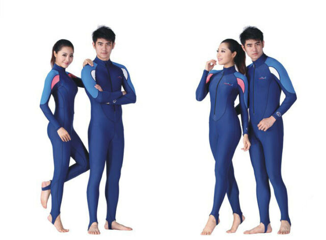 Men Women Ladies Youth Scuba Dive Skin Surfing Swim Full Suit Wetsuit Rash Guard
