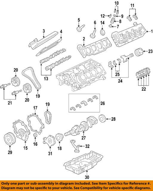 Brand New GM OEM Harmonic Balancer 2004-2009 Cadillac SRX 4.6L 12584576
