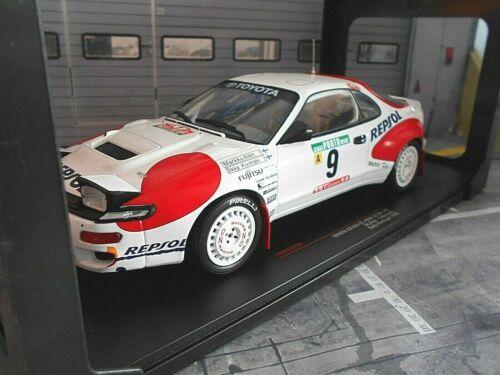 Toyota Celica st185 rally Portugal 1992 #9 alen Kivimäki repsol Ixo nuevo 1:18