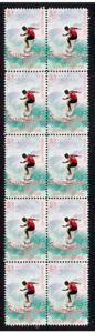 KELLY-SLATER-9-x-WORLD-CHAMP-STRIP-OF-10-MINT-VIGNETTE-STAMPS-3