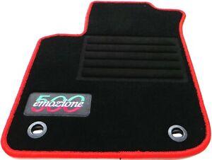 passend-fur-Fiat-500-Autofusmatten-Autoteppiche-Fussmatten-2007-2012-Lrov