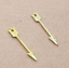 40//200pcs Antique cute exquisite arrows playboy alloy charm pendant 30X5mm