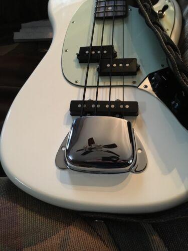 Genuine Fender American Vintage Precision Bass Bridge Cover Chrome 001-0108-000