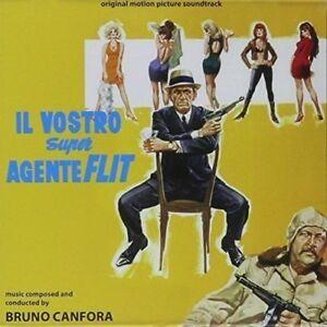 Bruno Canfora - Il Vostro Super Agente Flit - Soundtrack - Cd Nuovo Digitmovies