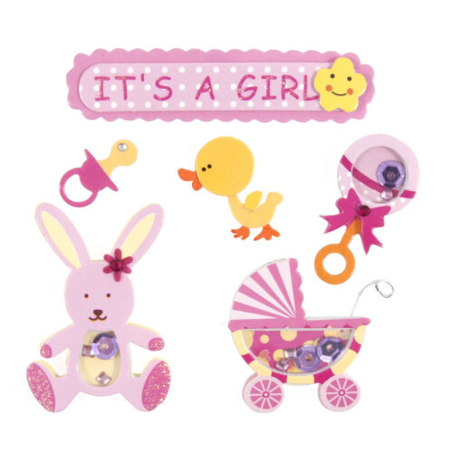 Baby Themed Card Toppers Scrapbooking Embellishments Craft For Occasions