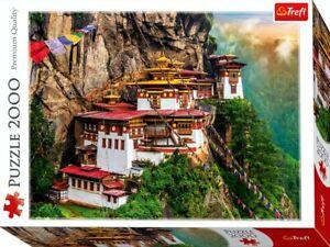 Trefl Tiger's Nest Bhutan 2000 Pieces puzzle Premium Quality