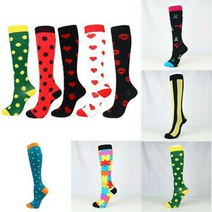 1Pair-Socks-Women-Compression-Running-Stockings-Sports-Medical-Calf-Mens-Support