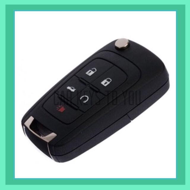 Holden VF Commodore/Cruze 5 Button Remote KeyShell