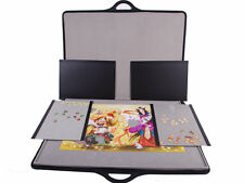 Deluxe Jigsaw Puzzle Storage 1500 Pieces Board Carry Case Lightweight  Tray New