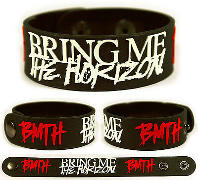 BRING ME THE HORIZON Rubber Bracelet Wristband Can You Feel My Heart