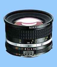 Brand New Unused Nikon Ais Nikkor 20mm F2.8 Wide Angle Manual Lens Ai S MF f/2.8