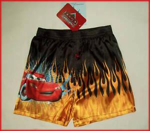 DISNEY CARS - Satin Boxer Shorts BOXERS Pyjama Pants New Sz 3 4 & 6   eBay