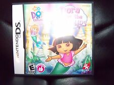 Dora the Explorer Dora Saves the Mermaids COMPLETE GREAT Nintendo DS Game EUC