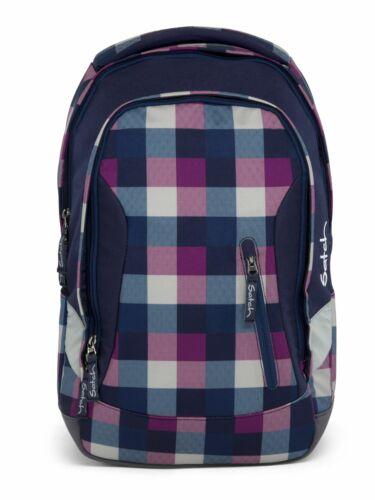 satch Sleek Rucksack Schulrucksack Rucksack Tasche Berry Carry Blau Pink Neu