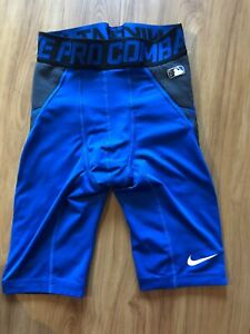 Details about Nike Pro Combat Baseball Compression Shorts Mens Small