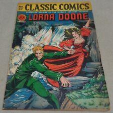 Vintage Dec 1946 LORNA DOONE #32 Classics Illustrated Comic Book