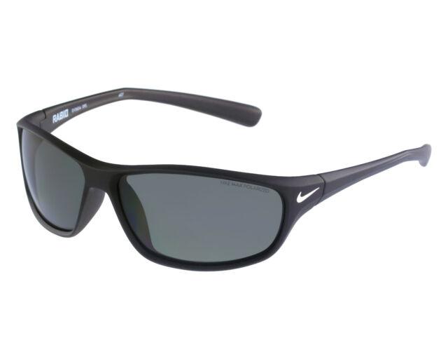 0c35cc8017b8 NEW Nike Rabid P - Sunglasses Matte Black / Grey Max Polarized Lens EV0604 -095