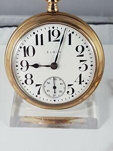 Elgin Natl' pocket watch, very nice collector pocket watch ! working