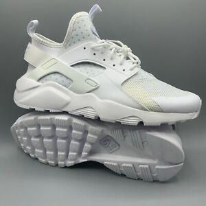 Details about Nike Air Huarache Run Ultra Triple White Running Shoes 819685  101 Mens Size 12