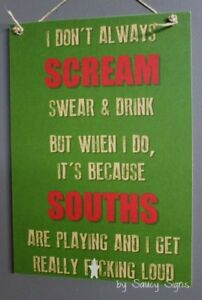 Naughty-Souths-South-Sydney-Rabbitohs-Scream-Sign-Jersey-Cards-Rugby-League-Etc