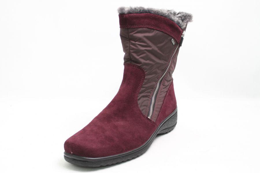 Ara Stiefel purple echt Nubuk Leder Gore-Tex Warmfutter Schuhweite H