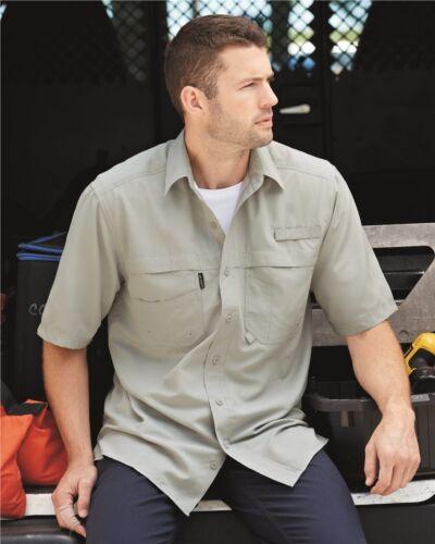 DRI DUCK Short Sleeve Fishing Shirt 4406 S-4XL Polyester Teflon