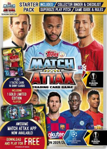 Topps Match Attax CHAMPIONS EUROPA LEAGUE 2019//20-100 club