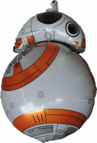 CAPTAIN PHASMA STORMTROOPER DARTH HEAD BB-8 ASTROMECH DROID R2-D2 ROBOT BALLOON