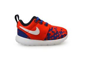 official photos 3f65c e5b19 Image is loading Infants-Nike-Roshe-One-Print-TD-749358601-Red-