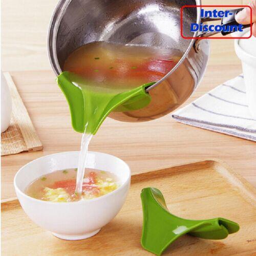 Anti Spill Silicone Slip On Pour Spout Funnel for Saucepans Pans Pots and Bowl21