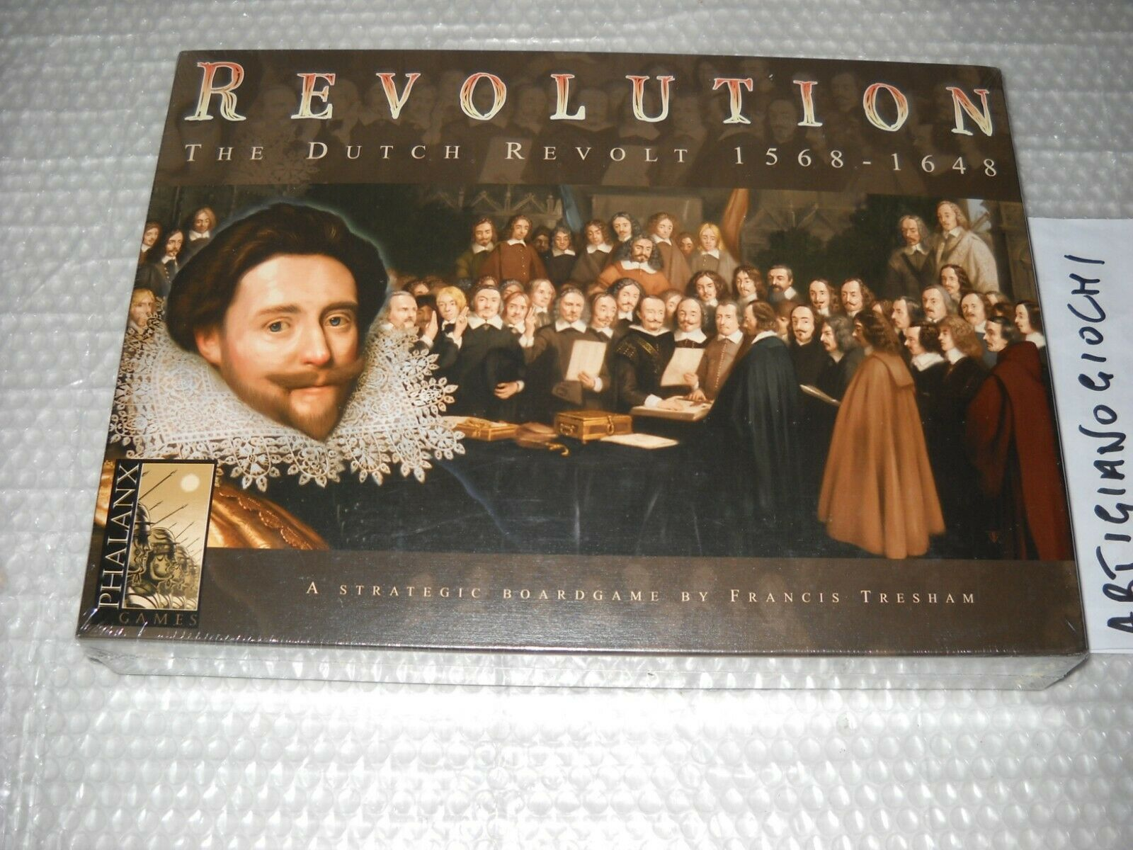 REVOLUTION  THE DUTCH REVOLT 1568-1648 LIMITED - NUOVO & SIGILLATO ING