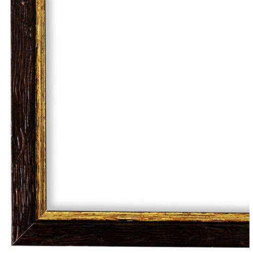 Bilderrahmen Vasto Braun Gold gemasert 24x30 28x35 30x30 30x40 30x45 40x40 40x50