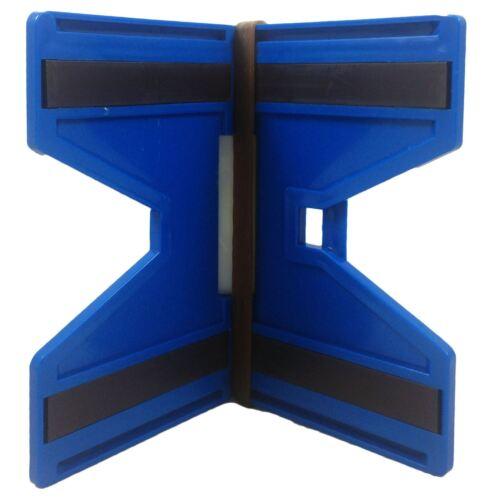 Silverline SL05 2 x 3-flacon magnétique post niveaux avec bande élastique esprit mesure