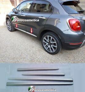 Modanature-Cornici-Profili-Minigonne-Acciaio-satinato-FIAT-500X-Made-in-Italy-gt-gt