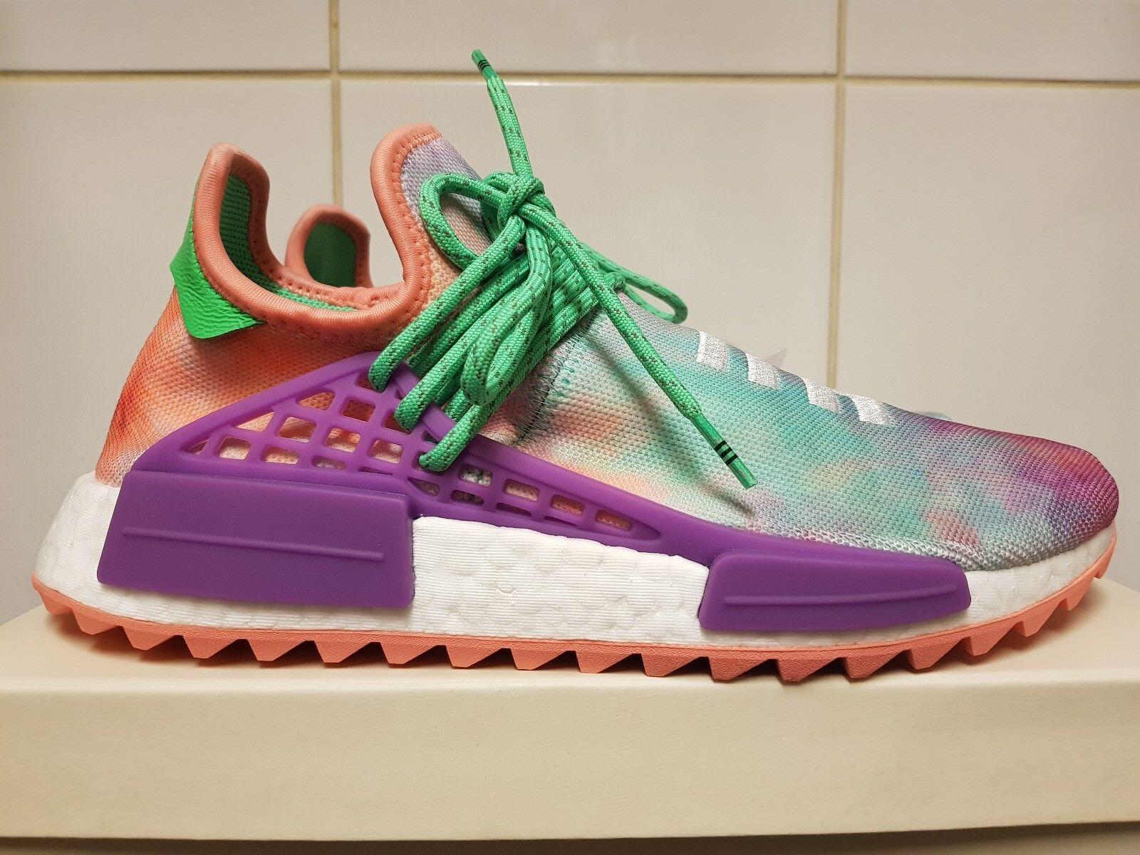 b92099c91 adidas X Pharrell Williams HU Holi NMD Chalk Coral UK 9 in Hand for ...