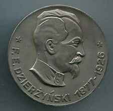 DDR:Felix Dzierzynski Medaille. 60 mm Altsilber mit Etui . 1 Stueck