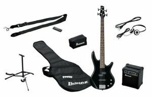 Bassgitarre Ibanez IJSR190BK E-Bass Starter Set Verstärker Tasche  unvollständig
