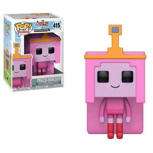 Tel Funko Pop 2018, Toy NEU Adventure Time // Minecraft Princess Bubblegum