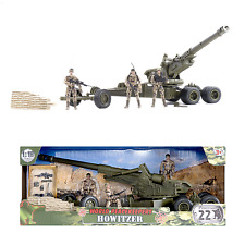 World Peacekeepers Army Military Howitzer artillary gun with figures 3+ Yrs