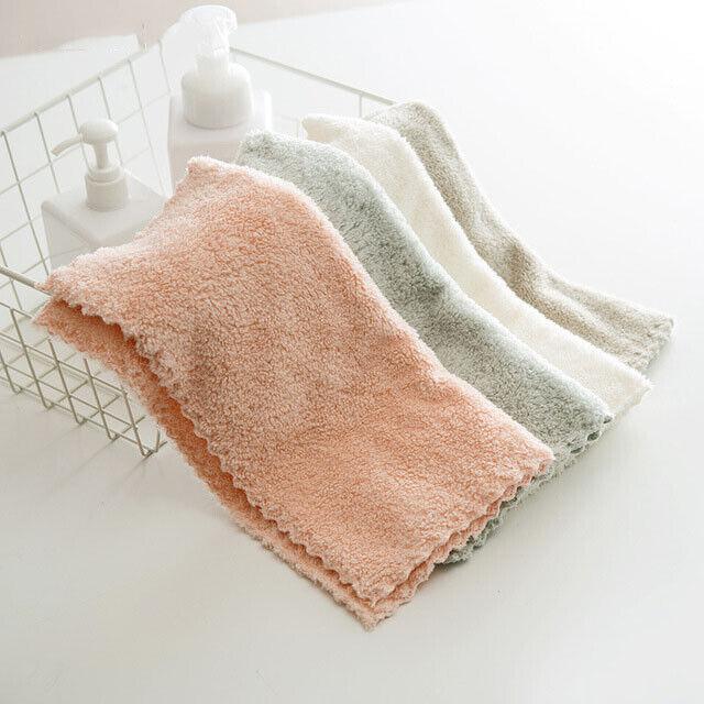 Face Towel Small Soft Portable Microfiber Bathroom Super Absorbent Thick Towels