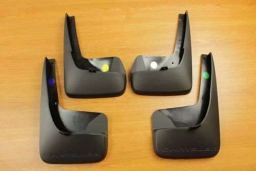 2011-2016 Chrysler Town /& Country Deluxe Molded Splash Guards Mud Flaps OEM