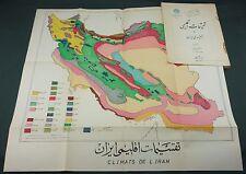 AHMED HOSSEIN ADLE - REGIONS CLIMATIQUES VEGETATION IRAN - Envoi de l'auteur