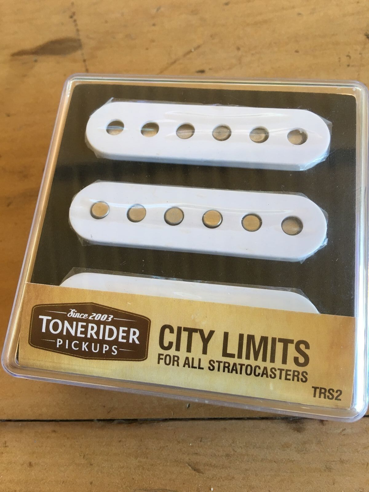 Tonerider City Limits Left Hand Pickup set for Stratocaster. Free Post