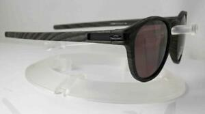 18a808aa39 Image is loading OAKLEY-POLARIZED-LATCH-SUNGLASSES-WOODGRAIN-FRAME-PRIZM -DAILY-