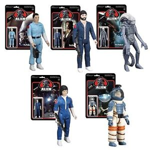 Funko Alien Reaction 3 3 4 Quot Action Figures Set Of 5 New