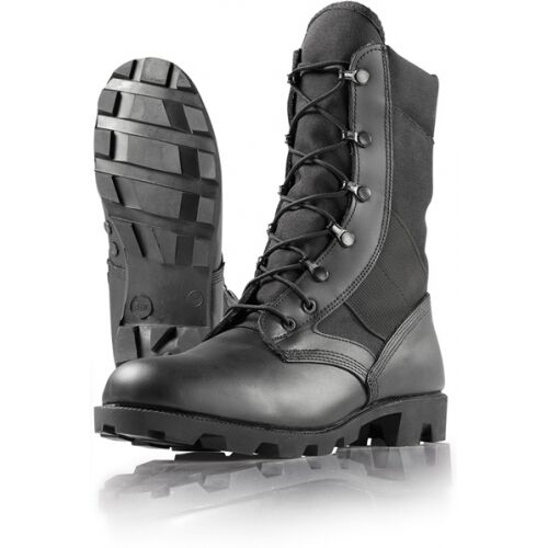 Wellco Black Hot Weather Jungle Combat Boots Size 10.5 Regular  Berry Compliant