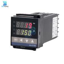 Rex C100 Digital Pid Temperature Controller 0 1300 Ssr K Type Thermocouples